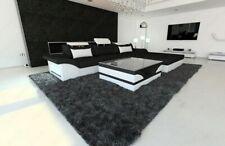 Fabric Sofa Design Sofa Sofa Parma L-Shaped recamiere+LED Lighting