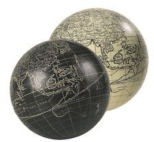 Authentic Models Vaugondy Decorativi Mondo Globe Nero, Bianco, Colore 14cm