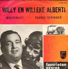 """WILLY & WILLEKE ALBERTI - Moederlief (FAVORIETEN EXPRES SINGLE 7"""")"""