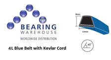 V-Belt with Kevlar cord - Section 4L Sizes:  4L 170 - 4L 750 (4L170K - 4L750K)