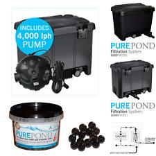 1/2 Price Evolution Aqua Pure Pond Filter 10000 inc 18w UV and FREE 4000lph Pump