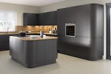 Anthracite Matt Handleless Kitchen Doors,Kitchen Cupboard Doors,Cabinet doors