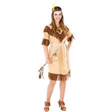 Costume da Donna Indiana Sexy Nativo Indiano Adulto Signora Carnevale Halloween
