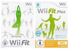 Nintendo Wii Spiel - Wii Fit Bundle: Wii Fit + Wii Fit Plus (mit OVP)