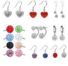 3d83aa6a3b3a2 Swarovski Crystal Ball Earrings for sale | eBay