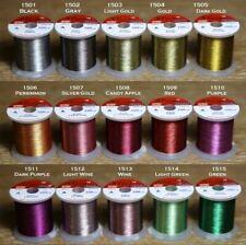 New Listing[Hitena] Stwrap Rod Wrapping Thread - Metallic Zebra (Jasper) Winding Thread