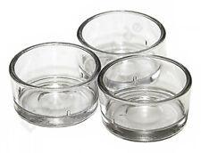 Teelichthalter Teelichtglas klar Teelichtgläser 40mm für Standard Teelichtkerzen