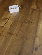 Moorland 260mm Wide long Plank Dark Oak Engineered Wood flooring Distressed