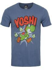 Nintendo Yoshi T-shirt Super Mario Men's Blue