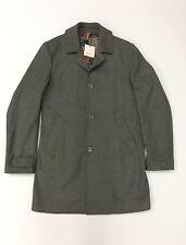 Berna Italia cappotto uomo art. 66159 col. grigio