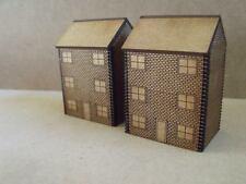 10 mm Brick CITTA 'CASE W Windows pendraken e Modellino Ferroviario edifici Wargames
