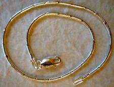 "Italy Sterling Silver Diamond Cut Ankle Bracelet 11"""