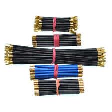 3 Stück Verdrahtungsbrücke flexibel 6-10mm² L 123-350mm schwarz / blau