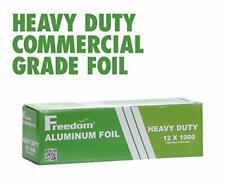 Heavy Duty Aluminum Foil Wrap, Commercial Grade, 1000ft Foil Wrap 12