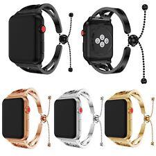 Luxus Edelstahl Armband Armreif Uhrenarmbänder Strap für Apple Watch 3/2/1 Serie