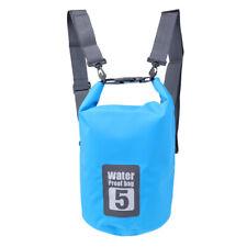 5-20L Waterproof Storage Dry Sack Bag Pouch Boating Kayak Canoeing Floating