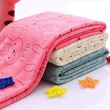 Baby Infant Newborn Rabbit Cartoon Soft Bath Feeding Towel Washcloth Superior