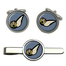 Wireless Operator Air Gunner, RAF Cufflinks and Tie Clip Set
