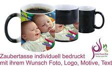 Zaubertasse Fototasse Werbetasse individuell bedruckt mit ihrem Wunsch Foto Logo