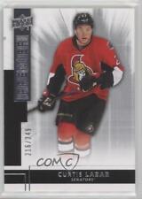 2014-15 Upper Deck Premier Rookie Inserts #R7 Curtis Lazar Ottawa Senators Card