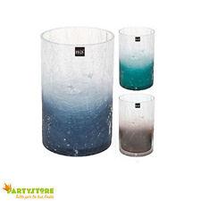 vaso in vetro 12 x 20 cm colori assortiti allestimento decorazioni floreali