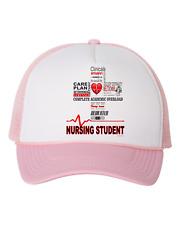 Trucker Hat Cap Foam Mesh Nurse Nursing Student School Graduate
