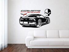Chevrolet Corvette Z06/ZR1 Racing Sport Back Car Wall Decal Art Mural Sticker
