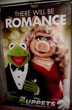Cinema Banner: MUPPETS, THE 2012 (Kermit & Miss Piggy) Amy Adams Jason Segel