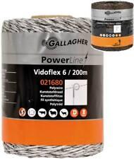 Filo Vidoflex Power line professionale Gallagher 2,5 mm con 6 conduttori inox