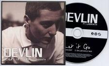 DEVLIN ft. LABRINTH Let It Go UK 2-trk promo CD radio edit / Da Lab Gully mix