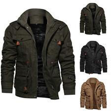 UK Windbreaker Men's Coat Military jackets bomber jacket Tactical Outwear Winter