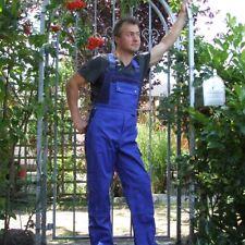 Arbeitslatzhose Arbeitskleidung blau/ marine Übergröße