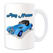 Personalised Gift Classic Race Car Mug Money Box Vintage Retro Sportscar Tea Cup