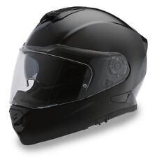 Daytona Detour Hi-Gloss Black Full Face Modular Bike DOT Motorcycle Helmet DE1-A