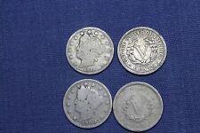 "USA LIBERTY "" V "" NICKEL 5 Cents  Amerika Cent 1883-1913 verschiedene Jahrgänge"
