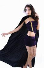 Damen Halloween Karnaval Gothic Vampir Queen Kostüm Fashing Party S M 36 38
