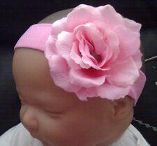 Bébé fille / enfant / poupée reborn 2 pouces rose fleur bandeau plusieurs couleurs