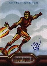 UPPER DECK IRON MAN 2 MOVIE SKETCH CARD TRAVIS WALTON