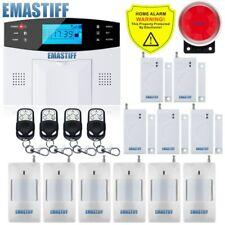 Alarme sans fil maison kit alarme Sécurité détecteur mouvement sirène exterieure