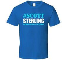 Scott Sterling Funny Soccer Goalkeeper The Man The Myth The Legend Mens T-Shirt