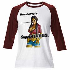 Herren Russ Meyers Supervixens Langarm T-Shirt Retro John Carpenter Film