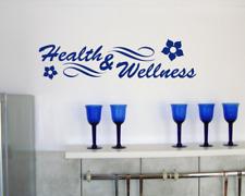 Wandtattoo Health & Wellness Wandsticker   25 Farben 8 Größen