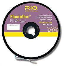 Rio Fluoroflex Plus Fluorocarbon Tippet 30 Yd Or Guide Spool 75-100 Yd 0X-7X