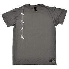 Corda verticale Rock scalatori Stampa T-shirt arrampicata regalo festa del papà