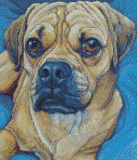 Cross Stitch Chart - Kit Puggle Dog