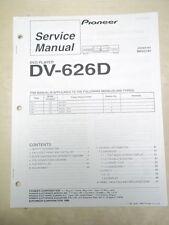 Pioneer Service Manual~DV-626D DVD Player~Original~Repair