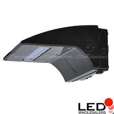 40W or 80W Full Cutoff LED Wall Pack Outdoor Light Fixture, UL, Daylight 5000K