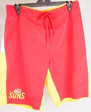 Official AFL Gold Coast Suns Mens Boardshorts