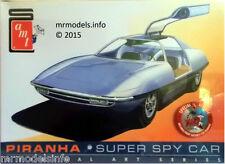 AMT 1/25 Piranha Super espion Voiture Nouveau Plastic Model Kit AMT916/12 Man from UNCLE