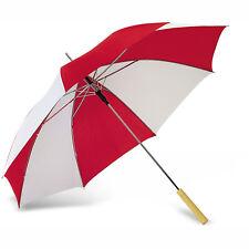 "23"" (58.42cm) auto open Bicolour Classic Golf Umbrella 8 PANELS Wooden Grip"